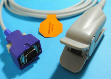 DB 14 Pin Nellcor Pulse Oximeter Probes , Reusable Covidien Nellcor